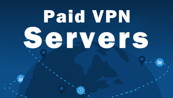 Paid VPNs have servers worldwide to offer.
