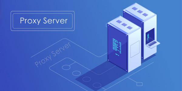 Hide IP address with proxy server