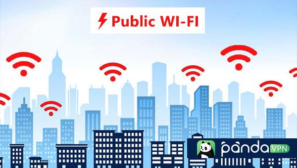 Mask IP address with public Wi-fi